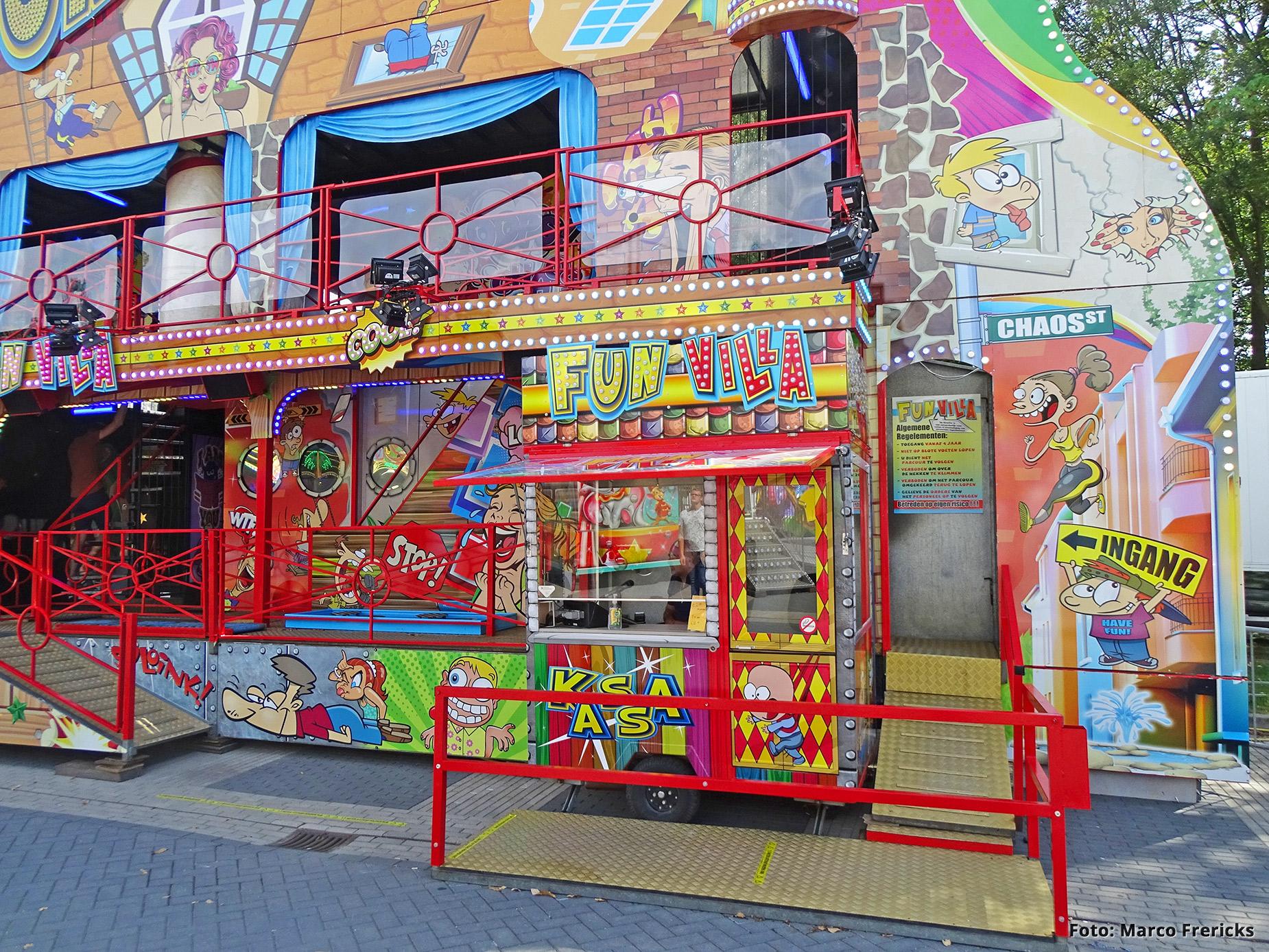 Verwijk Amusement , Kassa Fun Villa