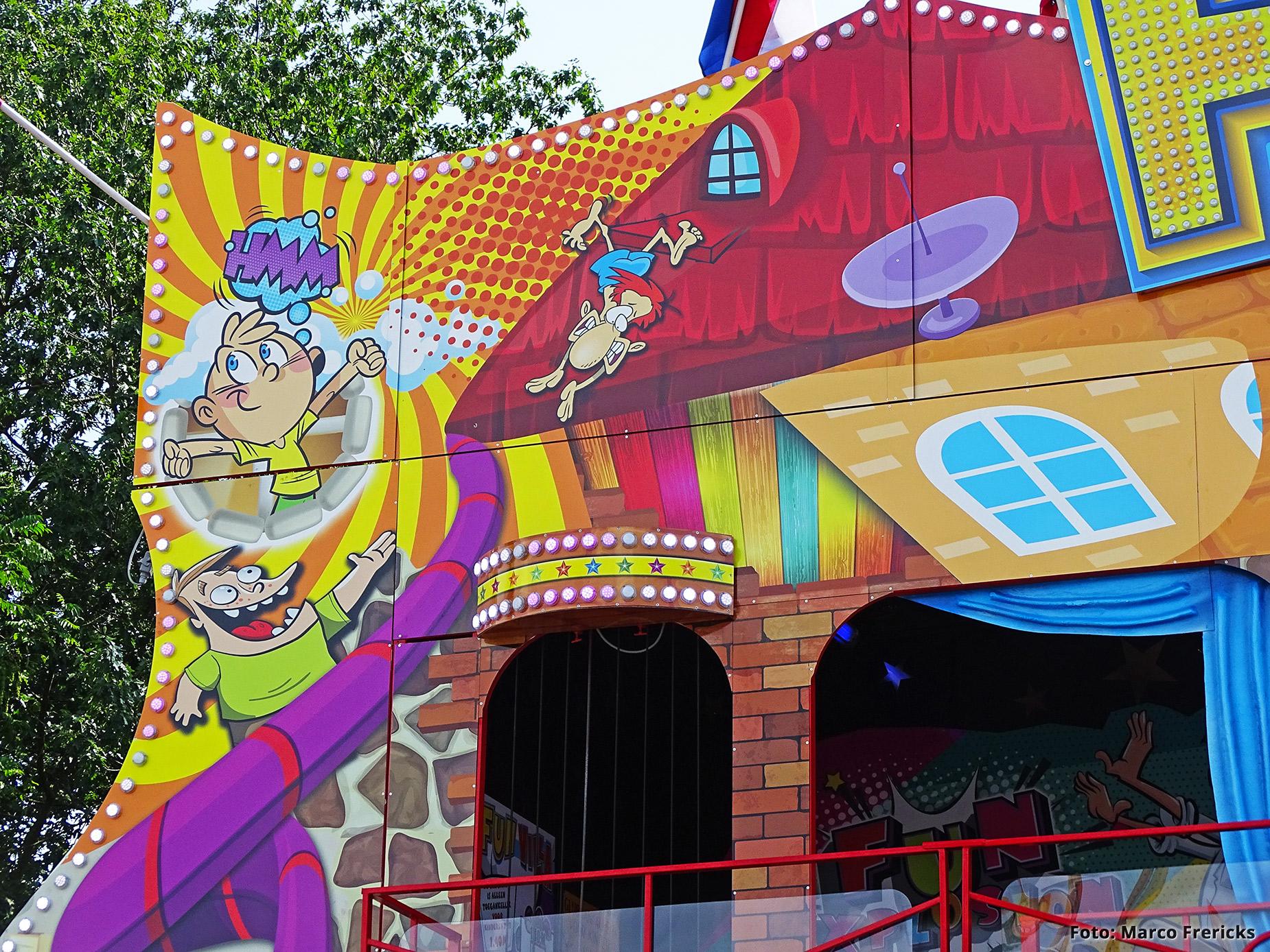 Verwijk Amusement , Funhouse Fun Villa