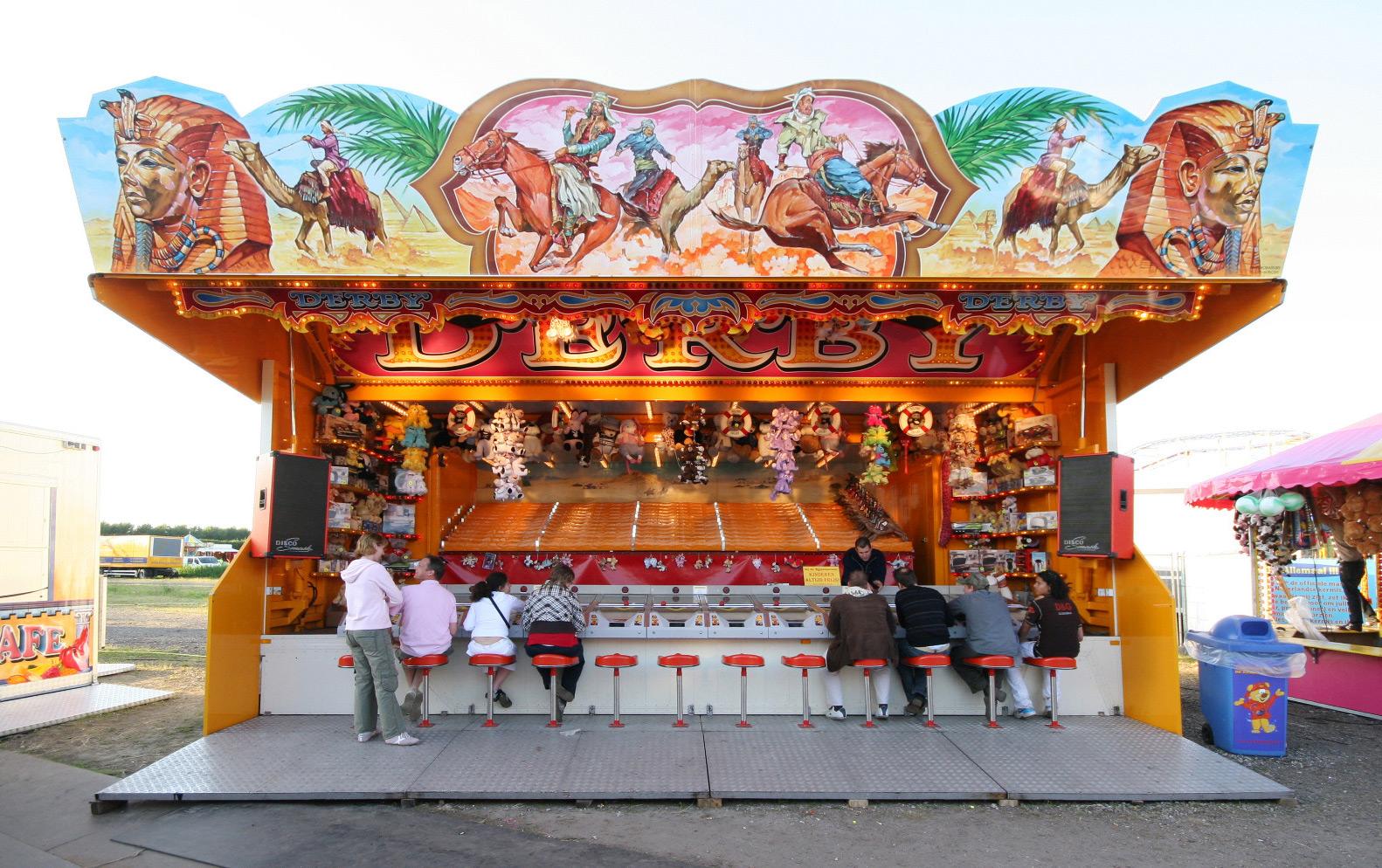 Verwijk Amusement , Kamelenderby